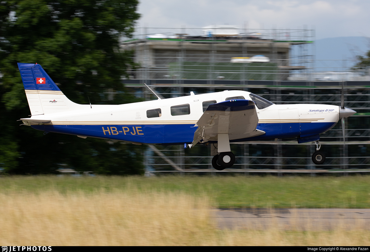 HB-PJE - Piper PA-32R-301 Saratoga II HP - Private
