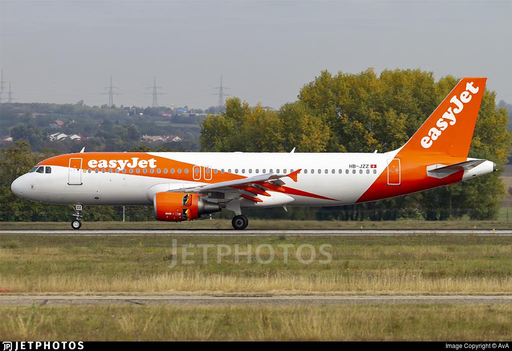 HB-JZZ - Airbus A320-214 - easyJet Switzerland