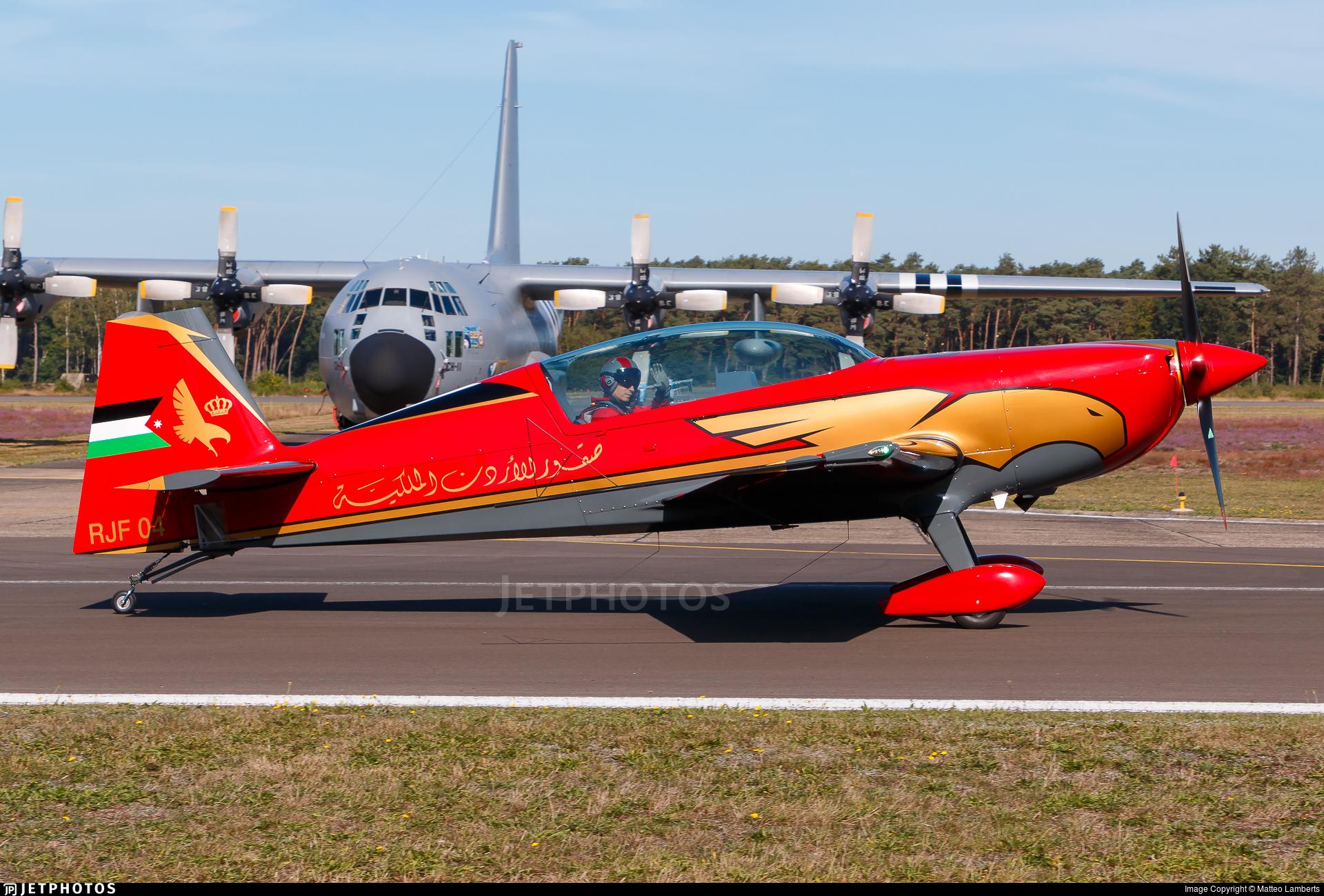 RJF 04 - Extra 330LX - Royal Jordanian Falcons