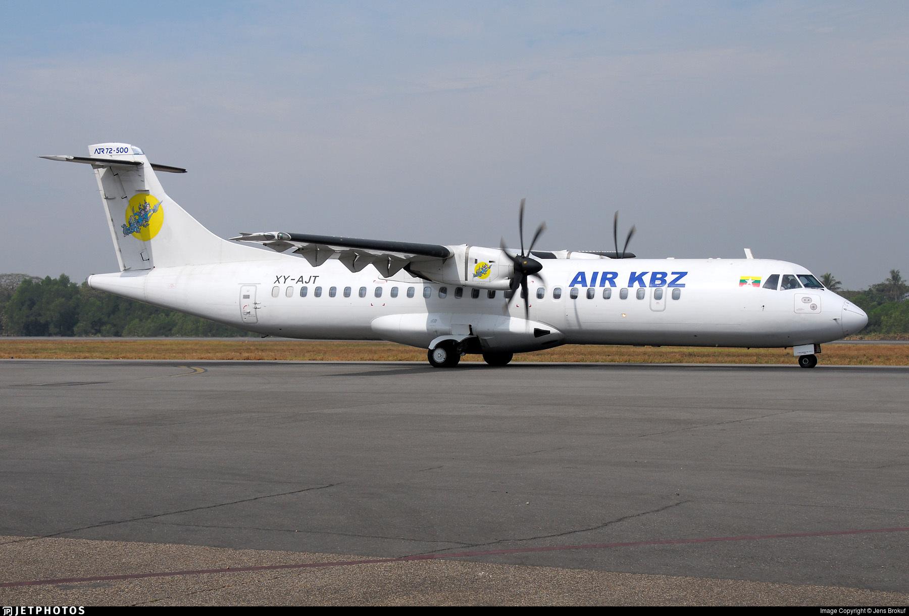 XY-AJT - ATR 72-212A(500) - Air KBZ