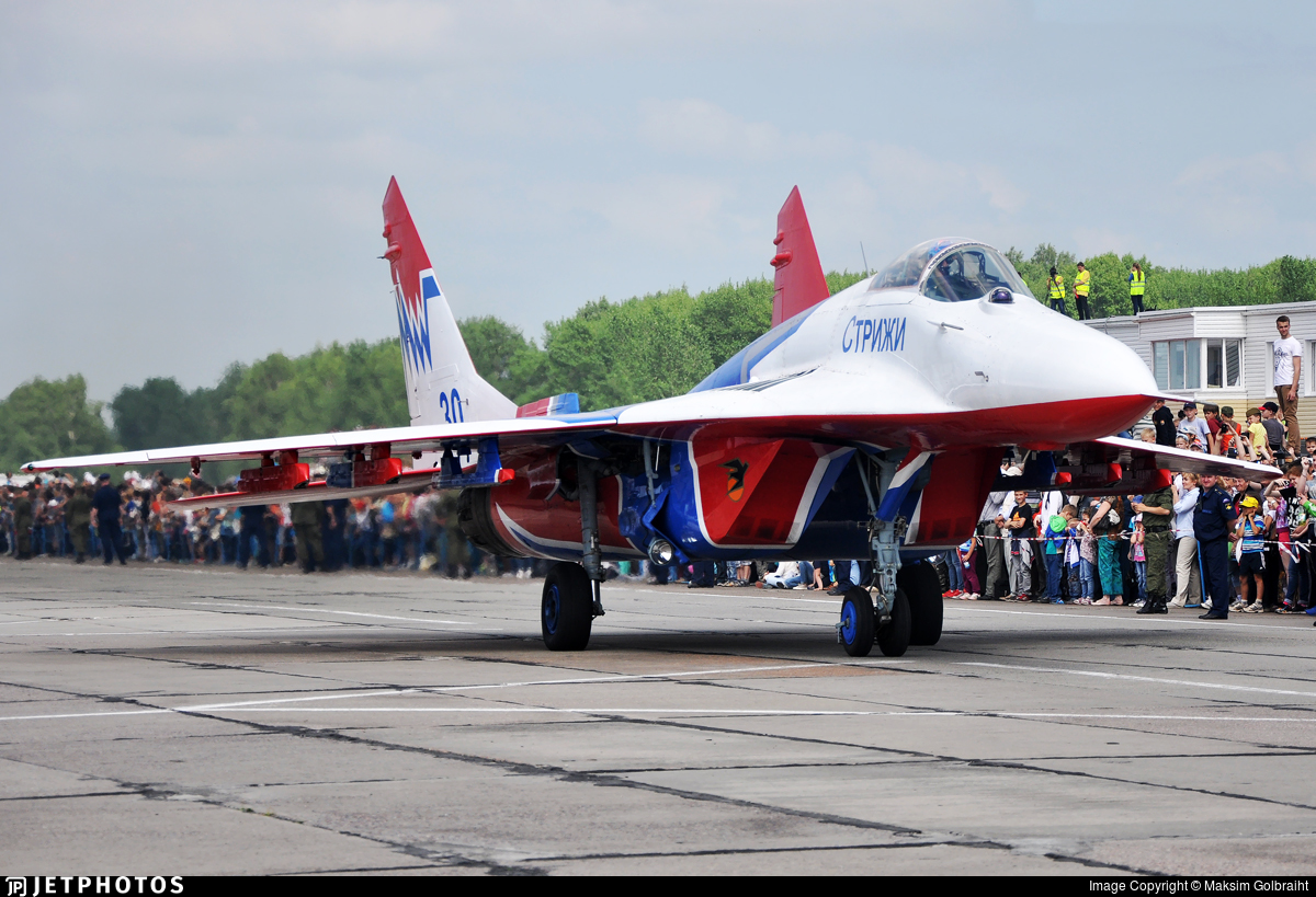 30 - Mikoyan-Gurevich MiG-29SMT Fulcrum C - Russia - Air Force