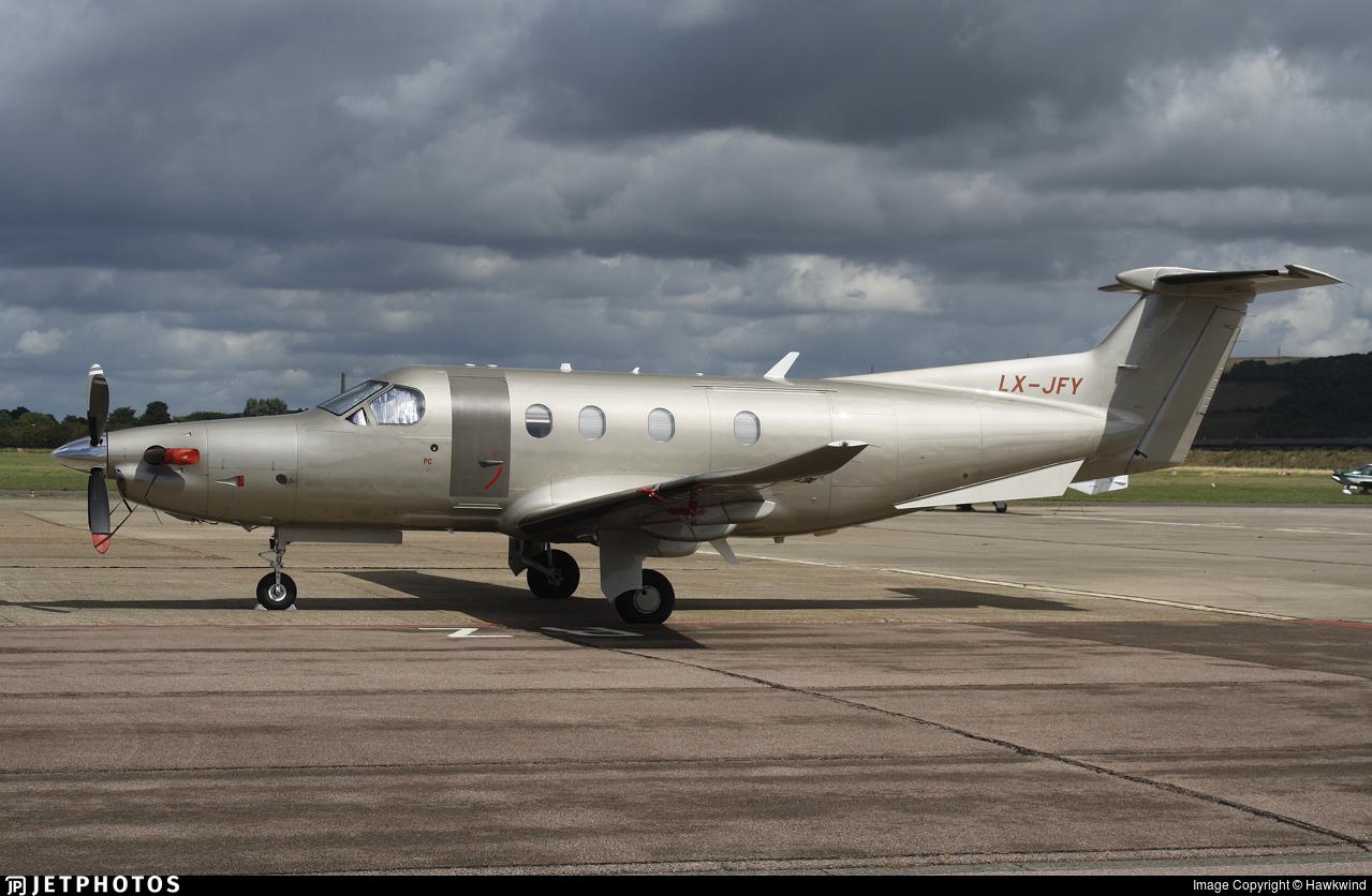 LX-JFY - Pilatus PC-12/47E - Jetfly Aviation