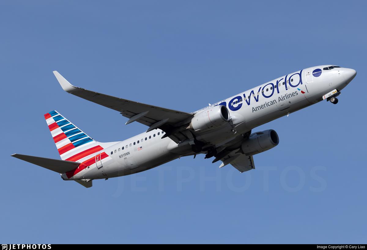 N919NN - Boeing 737-823 - American Airlines