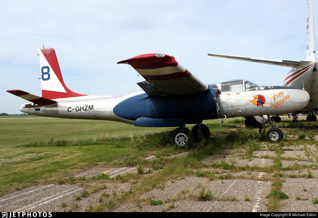C-GHZM - Douglas A-26B Invader - Air Spray
