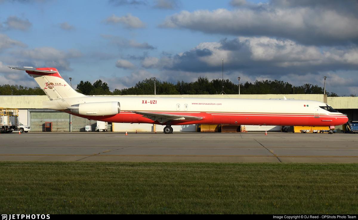 XA-UZI - McDonnell Douglas MD-83(SF) - Aeronaves TSM