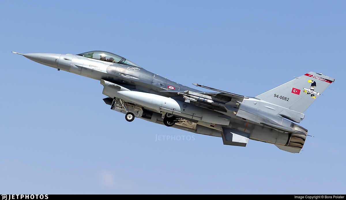 94-0082 - Lockheed Martin F-16C Fighting Falcon - Turkey - Air Force