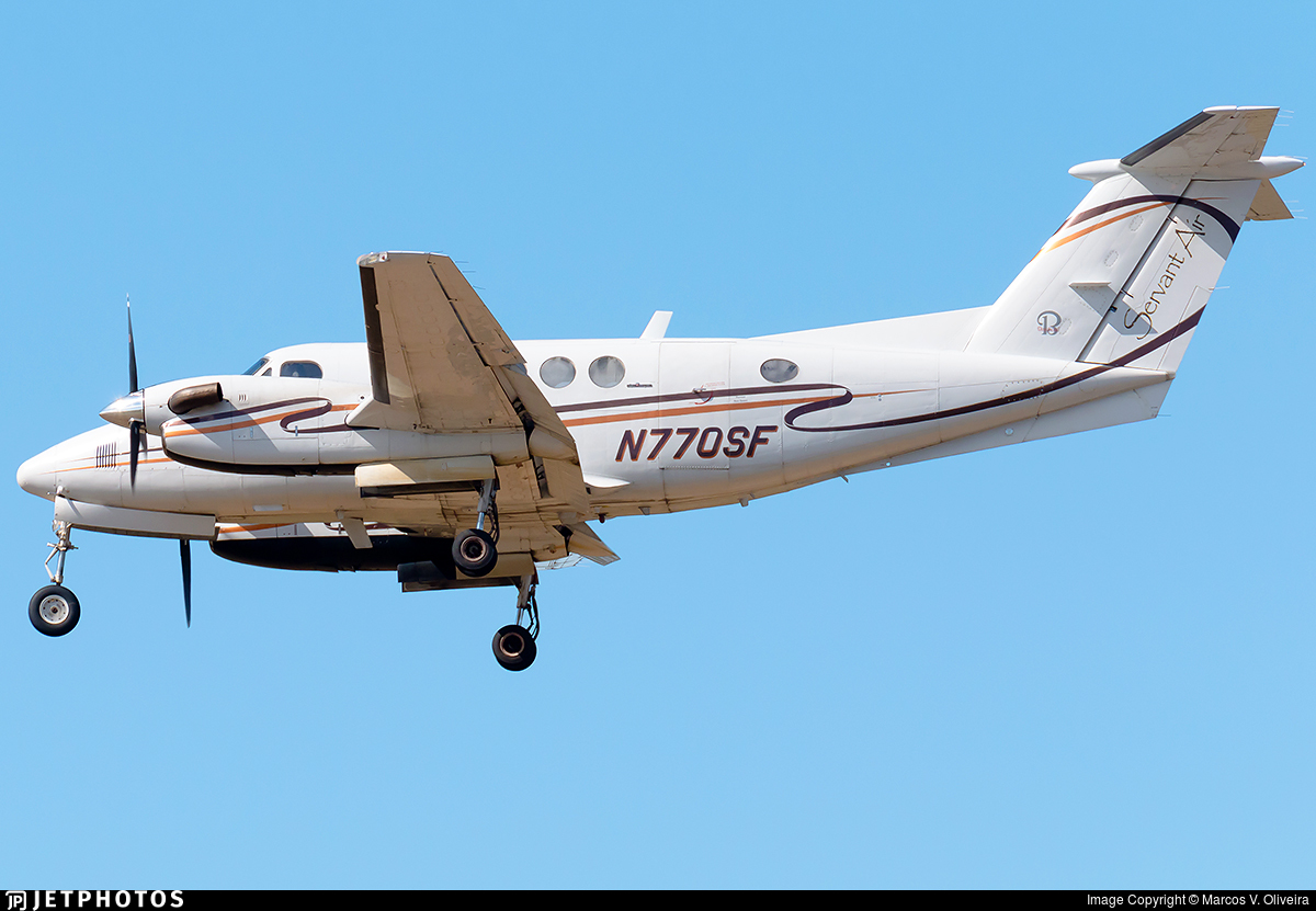 N770SF - Beechcraft 200 Super King Air - Servant Air