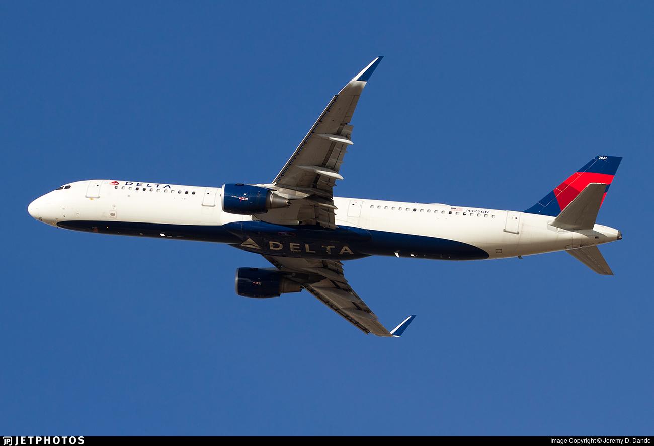 N327DN - Airbus A321-211 - Delta Air Lines