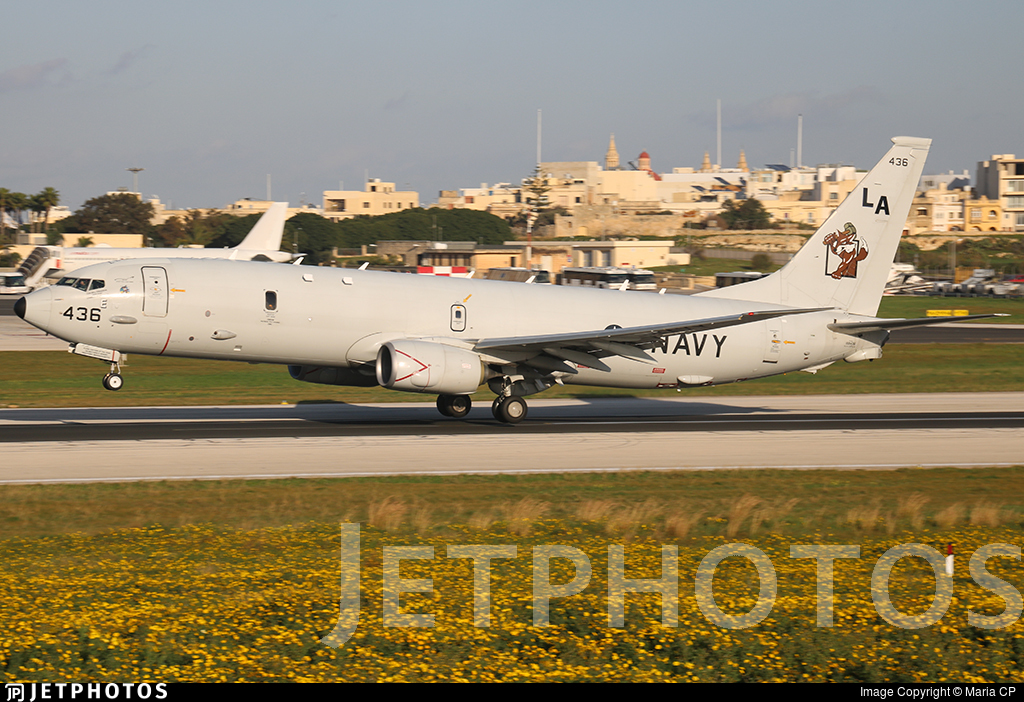 168436 - Boeing P-8A Poseidon - United States - US Navy (USN)