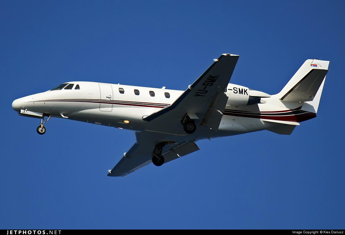 YU-SMK - Cessna 560XL Citation XLS - Private