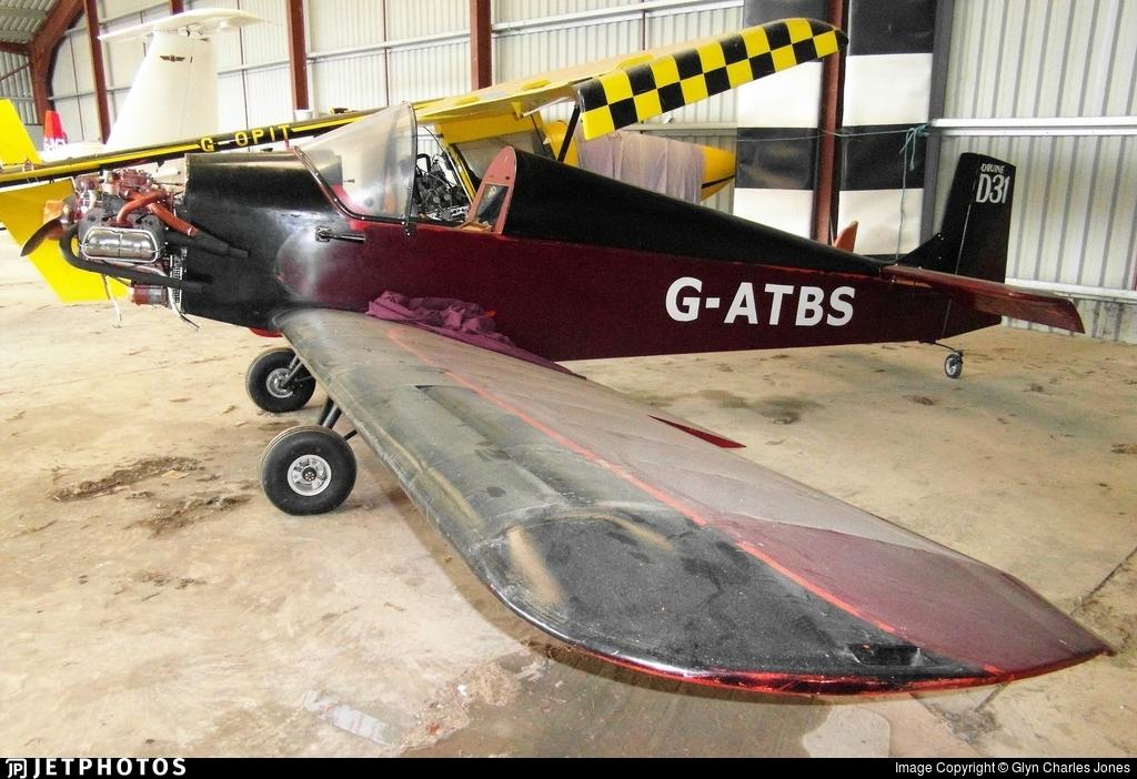G-ATBS - Druine DR.31 Turbulent - Private
