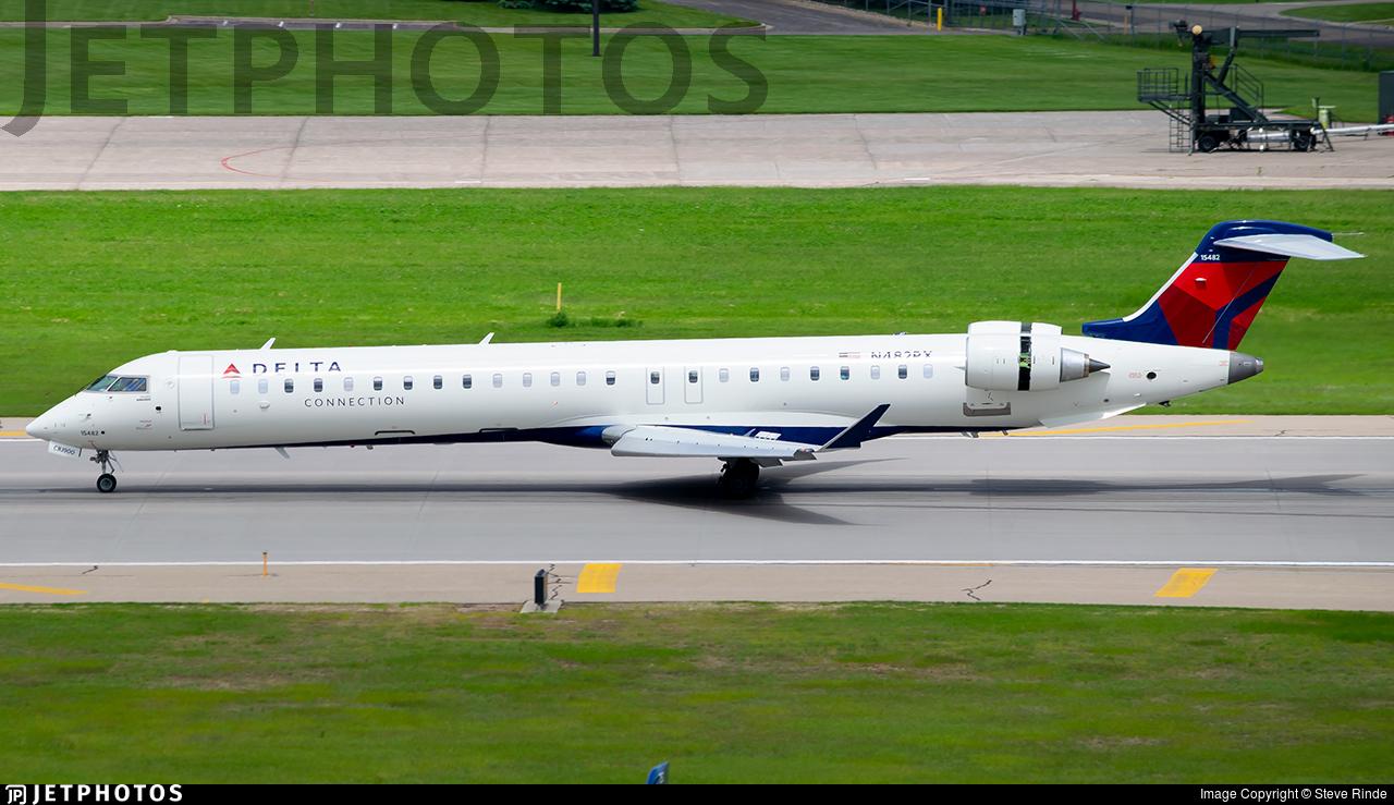 N482PX - Bombardier CRJ-900LR - Delta Connection (Endeavor Air)