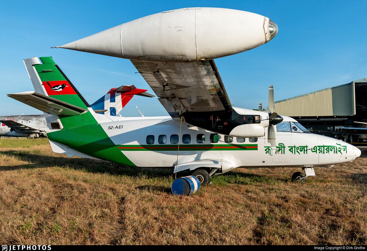 S2-AEI - Let L-410UVP-E3 Turbolet - Ruposhi Bangla Airlines