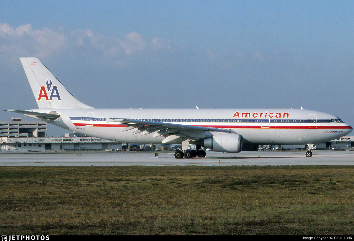 N90070 - Airbus A300B4-605R - American Airlines