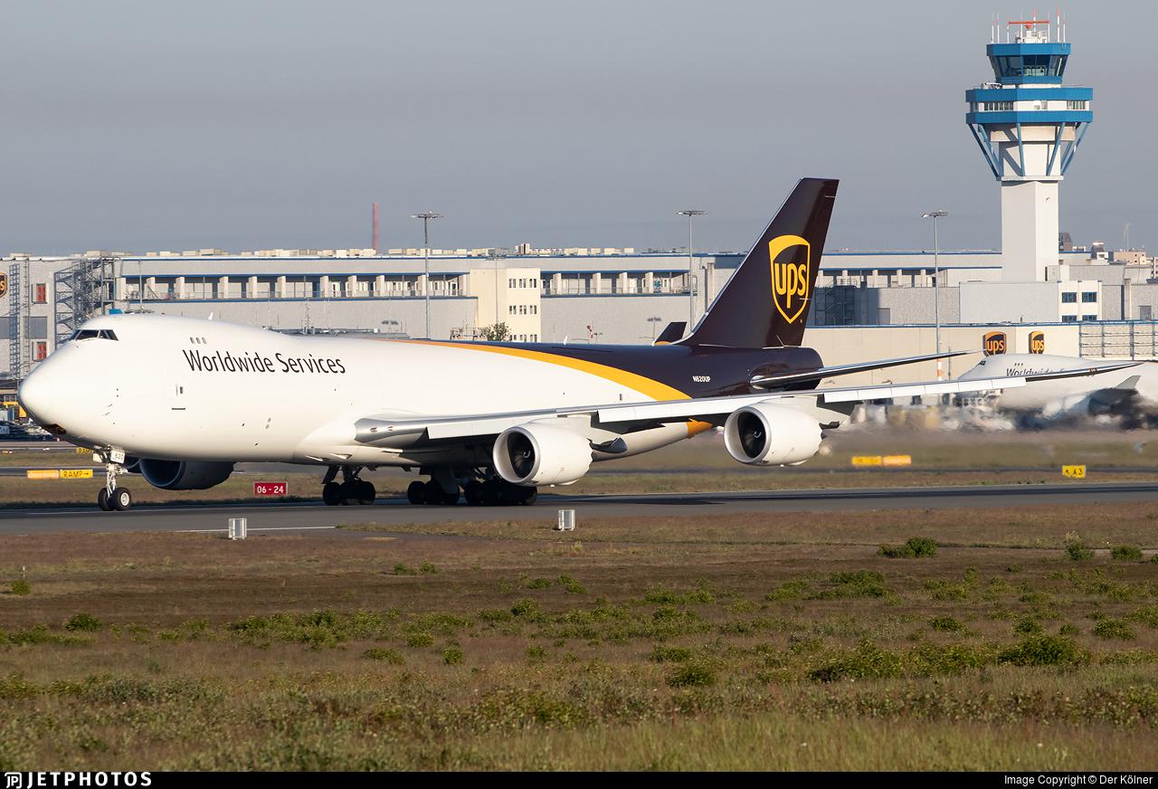 N620UP - Boeing 747-84AF - United Parcel Service (UPS)