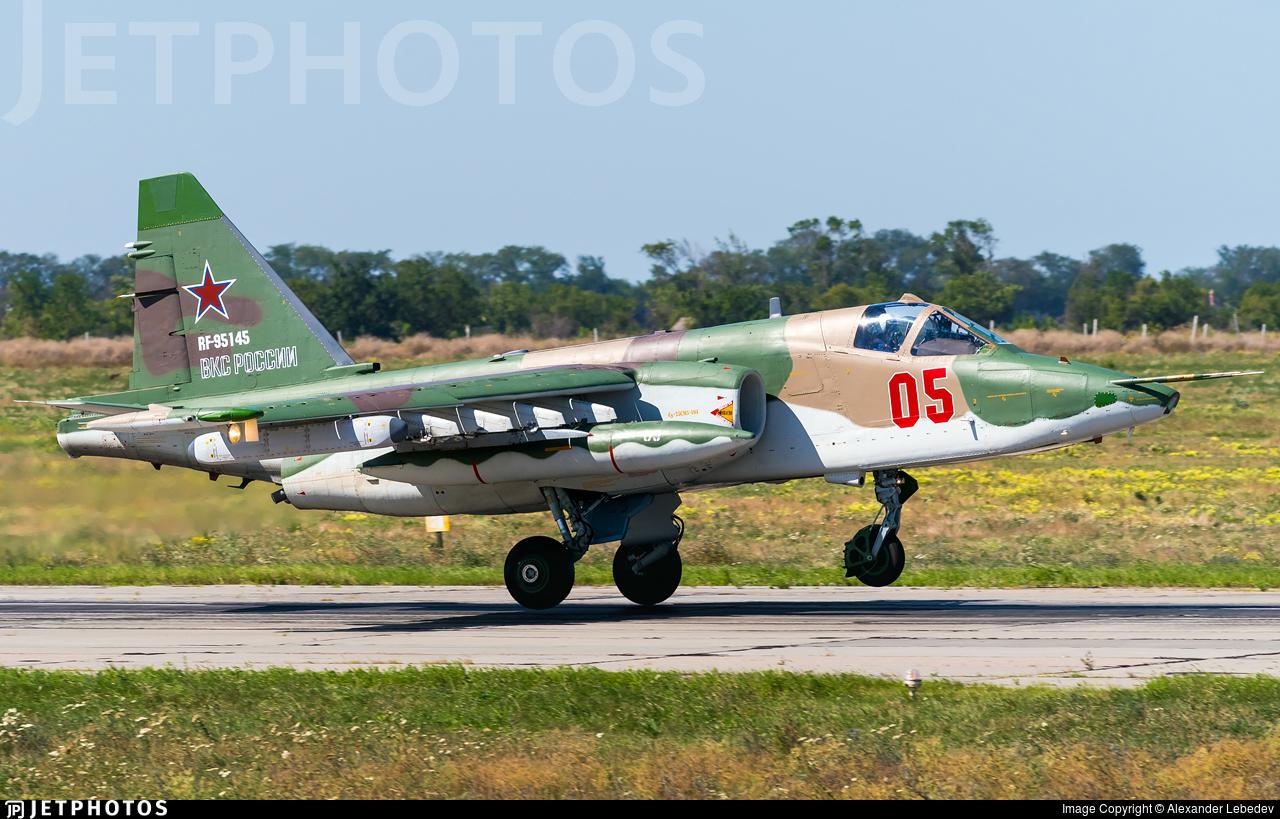 RF-95145 - Sukhoi Su-25SM3 Frogfoot  - Russia - Air Force