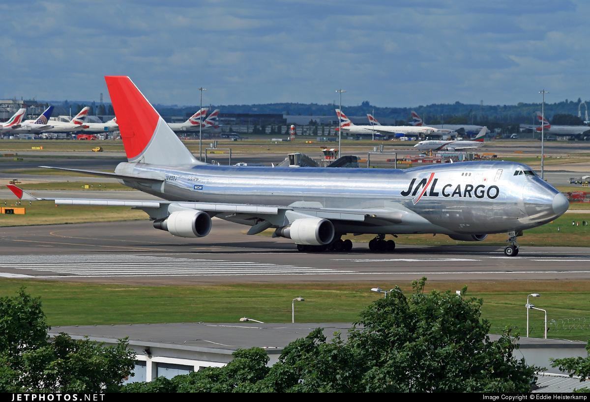JA402J - Boeing 747-446F(SCD) - JAL Cargo