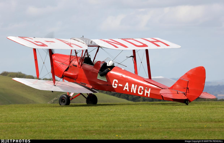 G-ANOH - De Havilland DH-82 Tiger Moth - Private