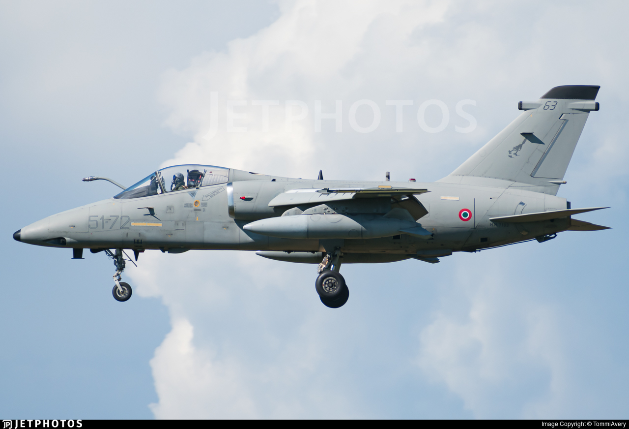 MM7183 - Alenia/Aermacchi/Embraer AMX - Italy - Air Force