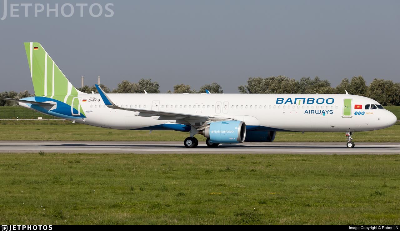 D-AVYG - Airbus A321-251NX - Bamboo Airways