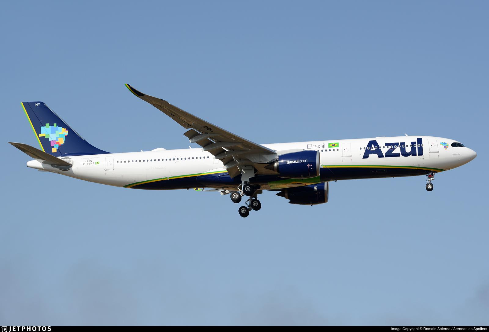 F-WWKR - Airbus A330-941 - Azul Linhas Aéreas Brasileiras