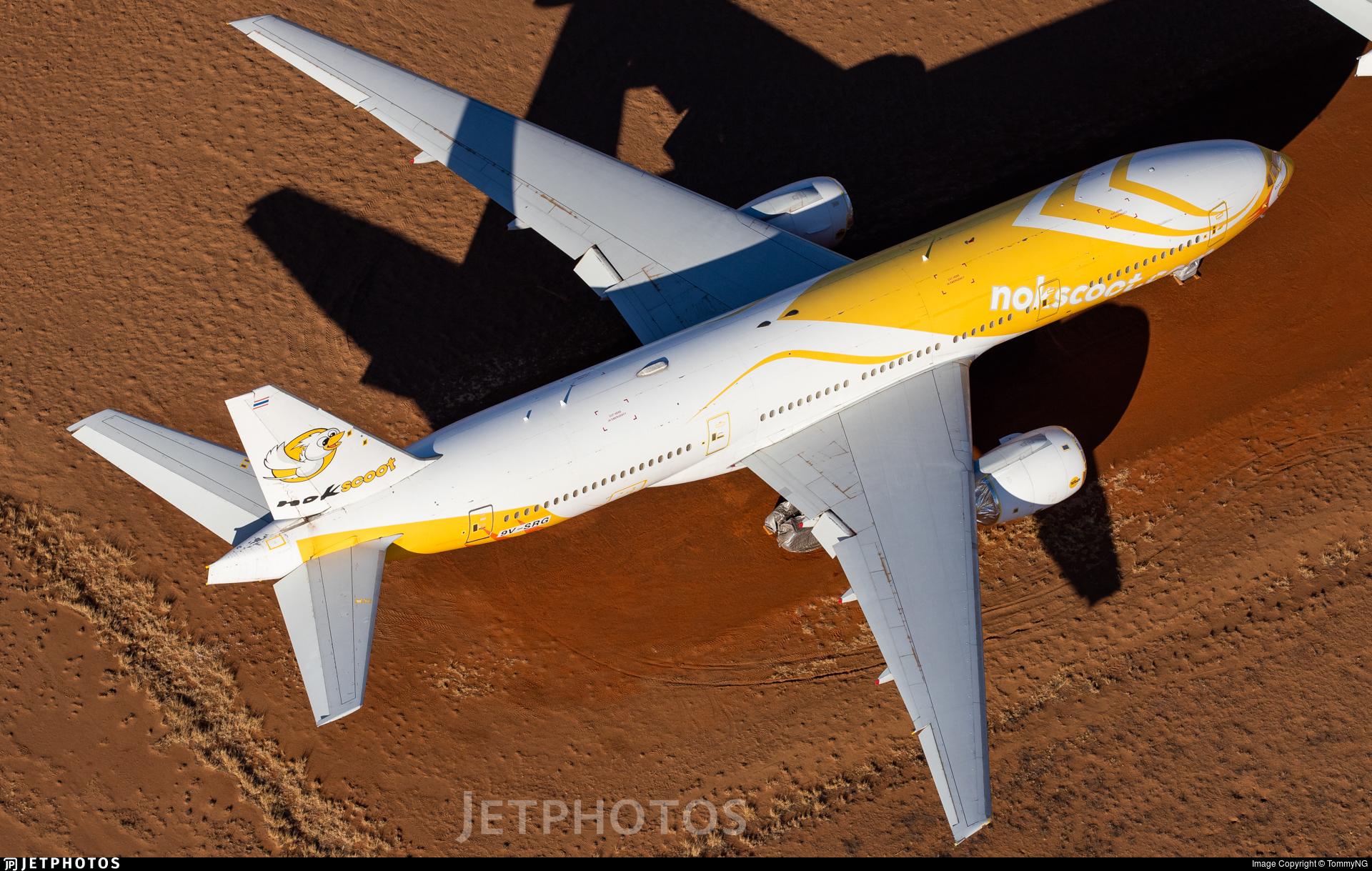 9V-SRG - Boeing 777-212(ER) - NokScoot