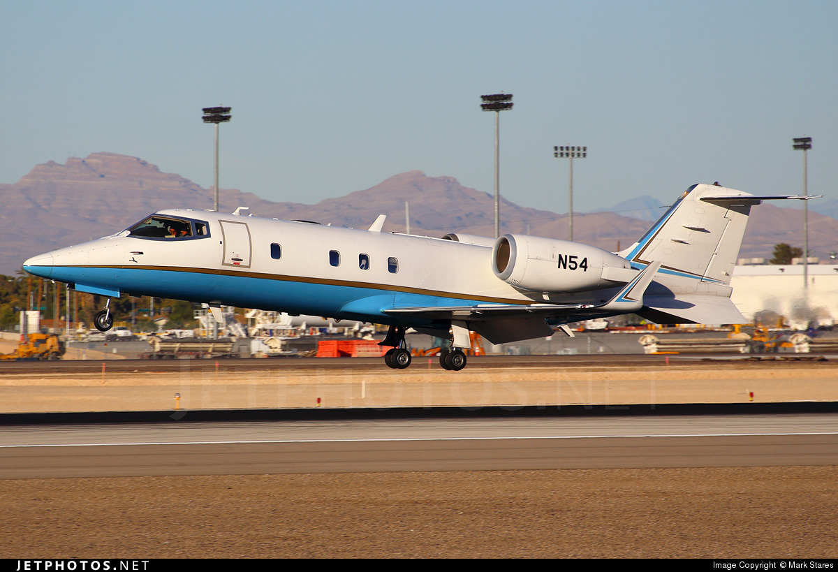 N54 - Bombardier Learjet 60 - United States - Federal Aviation Administration (FAA)