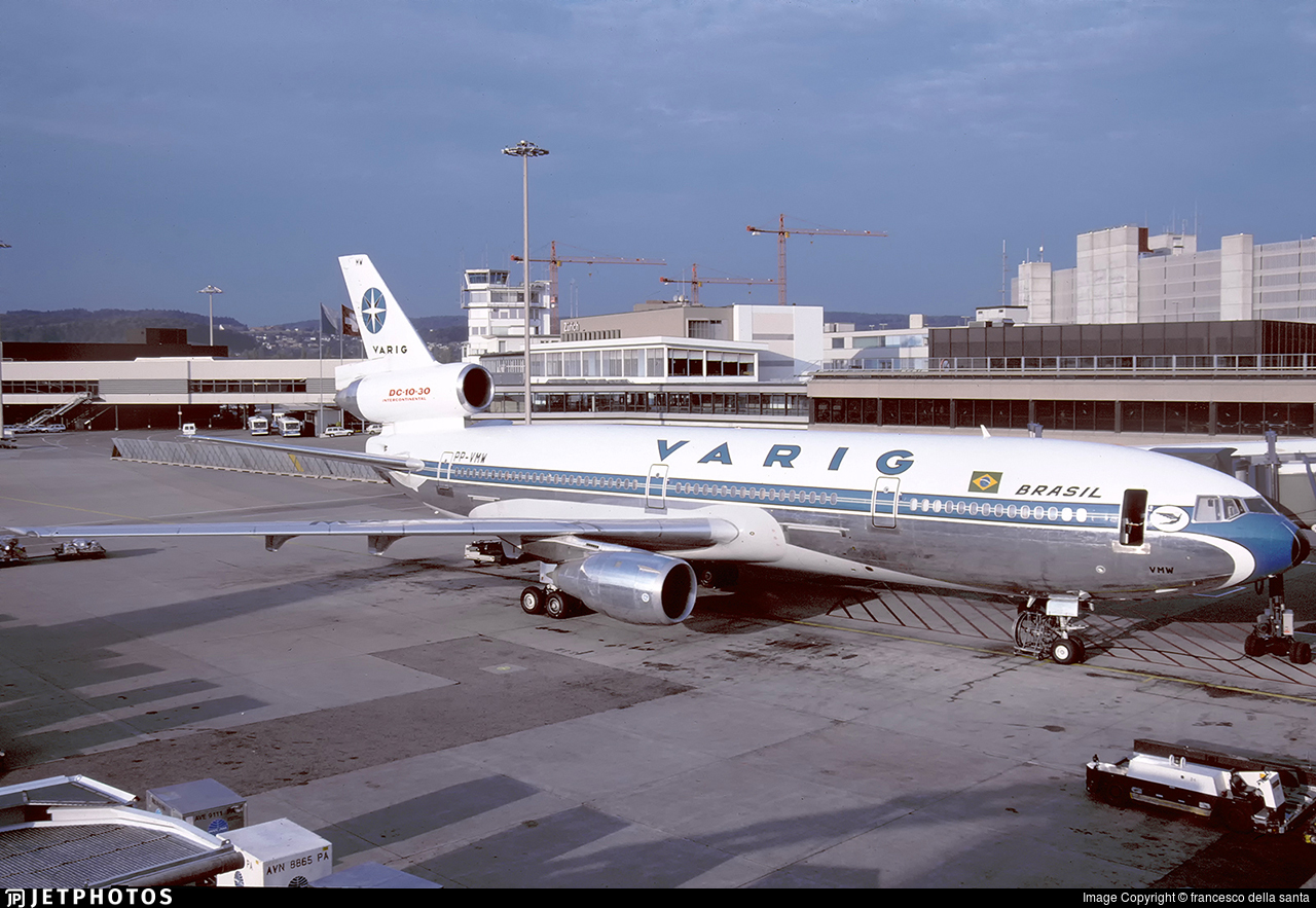 PP-VMW - McDonnell Douglas DC-10-30 - Varig