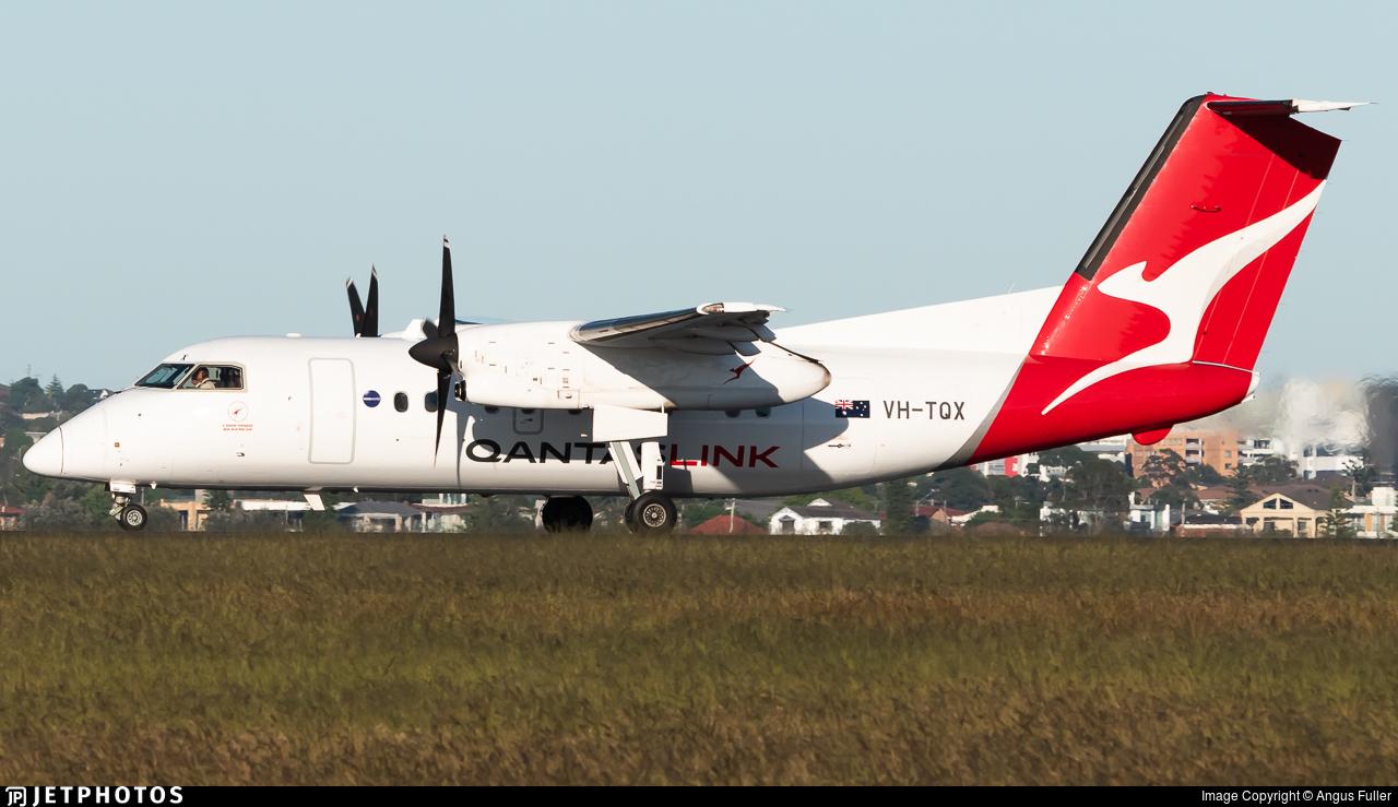 VH-TQX - Bombardier Dash 8-Q202 - QantasLink (Eastern Australia Airlines)