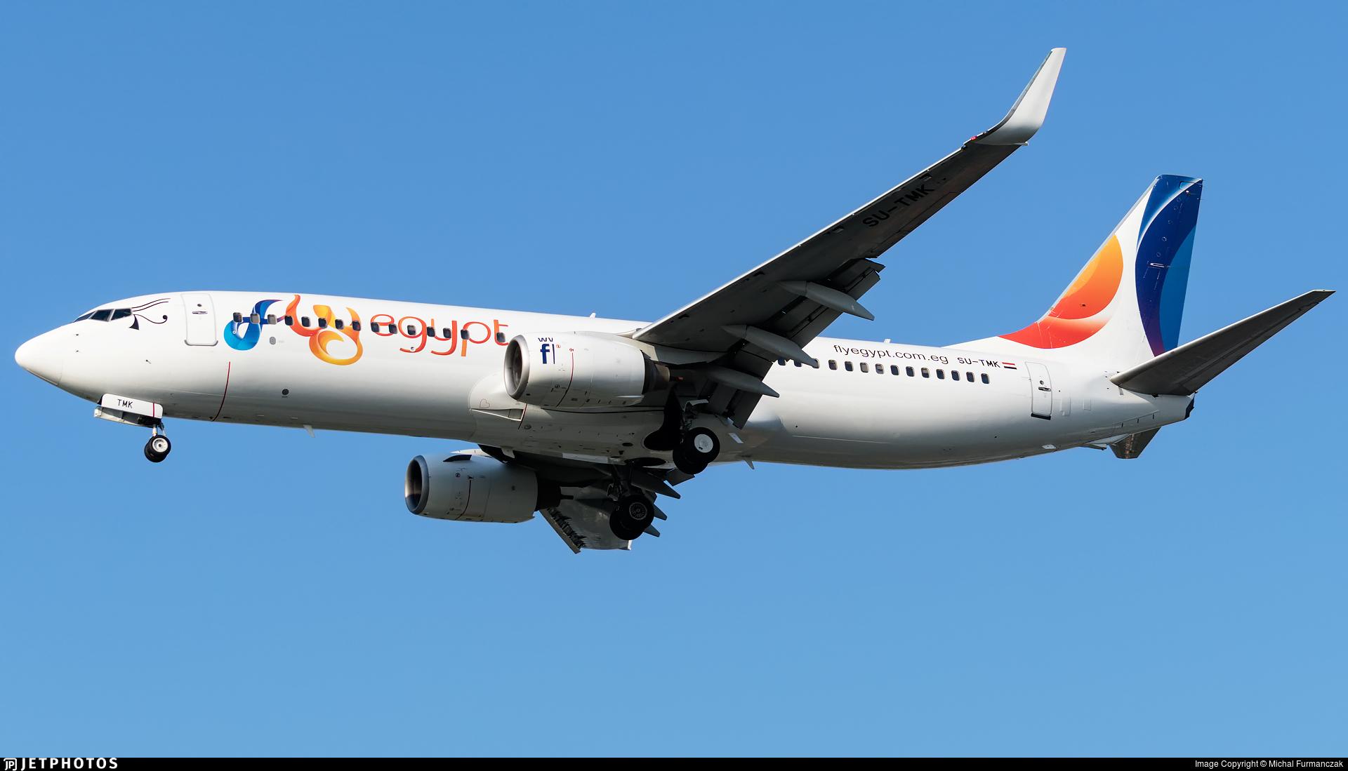 SU-TMK - Boeing 737-82R - FlyEgypt