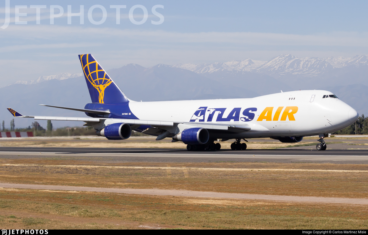 N476MC - Boeing 747-47UF(SCD) - Atlas Air