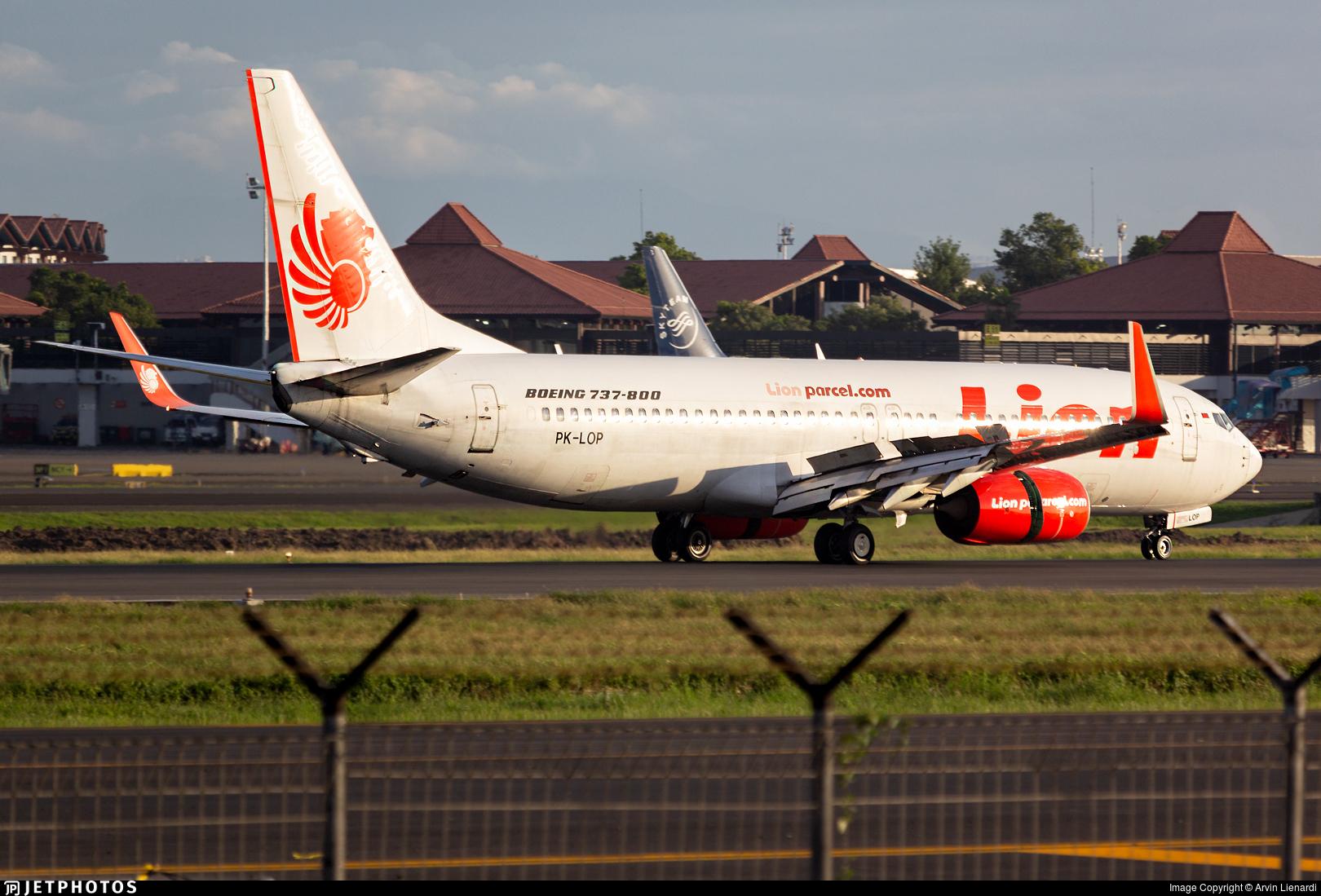 PK-LOP - Boeing 737-8GP - Lion Air