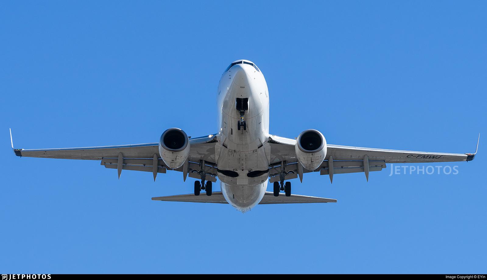 C-FMWJ - Boeing 737-7CT - WestJet Airlines