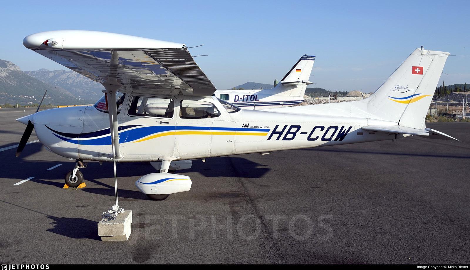 HB-CQW - Cessna 172S Skyhawk SP - Albis Wings