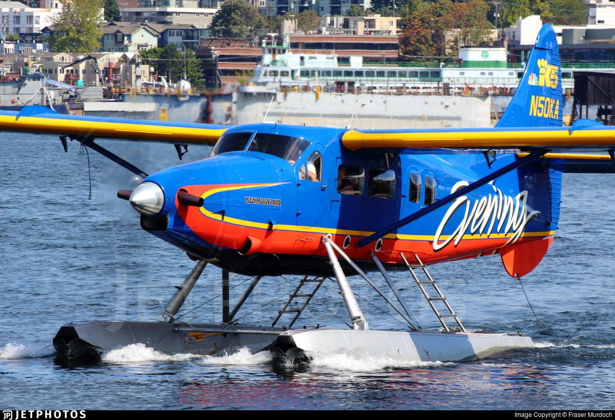 N50KA - De Havilland Canada DHC-3T Vazar Turbine Otter - Kenmore Air