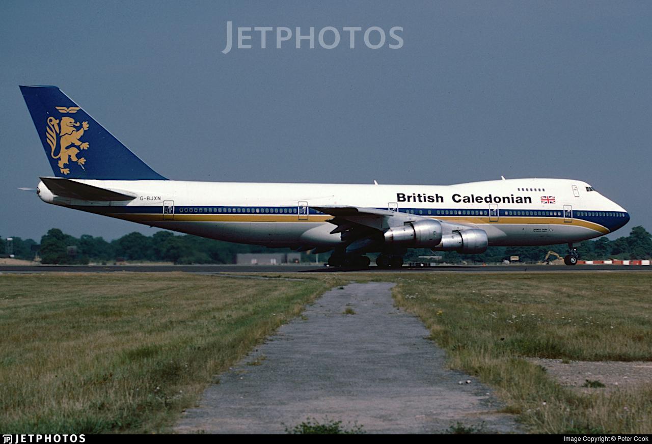 G-BJXN - Boeing 747-230B - British Caledonian Airways