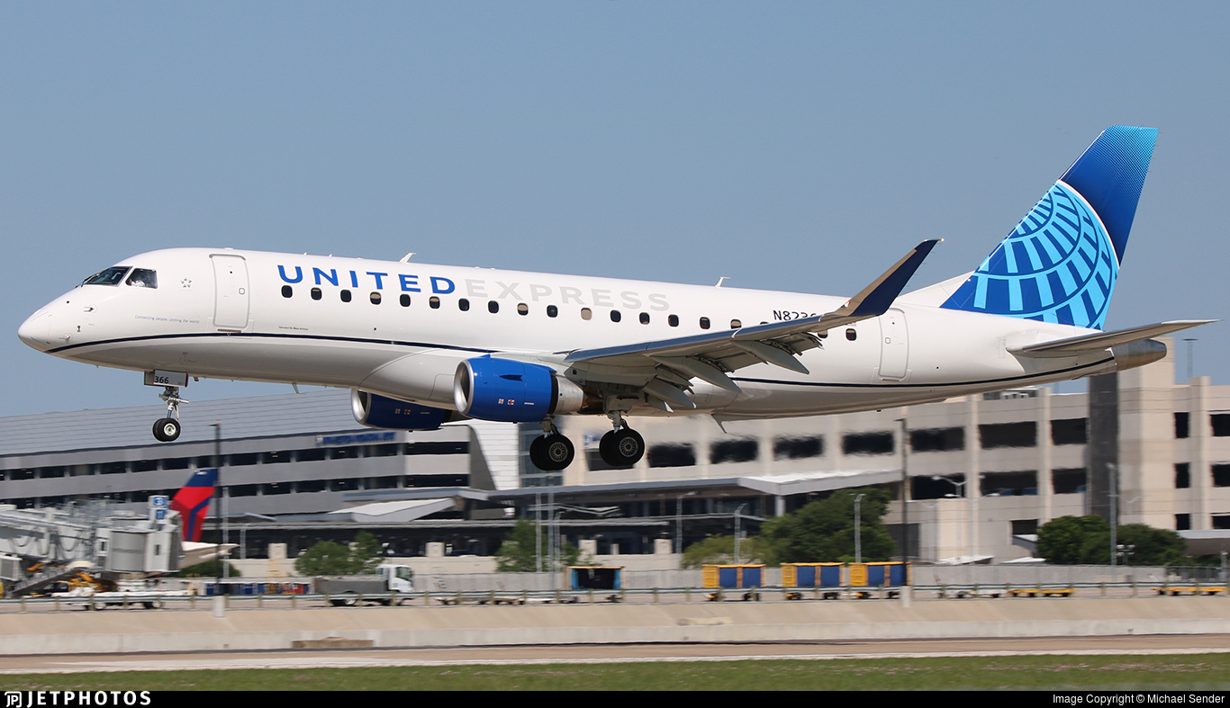 N82366 - Embraer 170-200LL - United Express (Mesa Airlines)