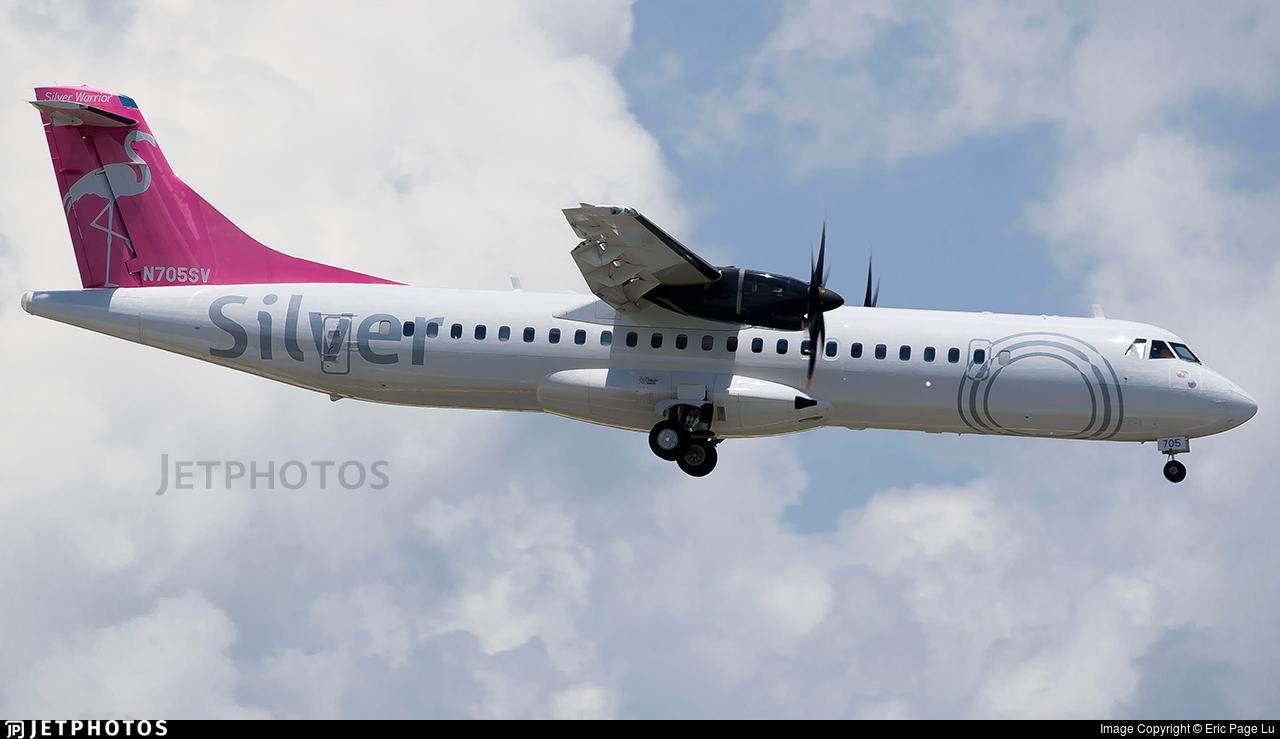 N705SV - ATR 72-212A(600) - Silver Airways