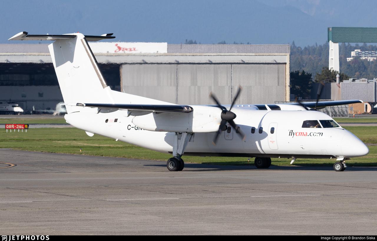 C-GNCJ - De Havilland Canada Dash 8-102A - Central Mountain Air