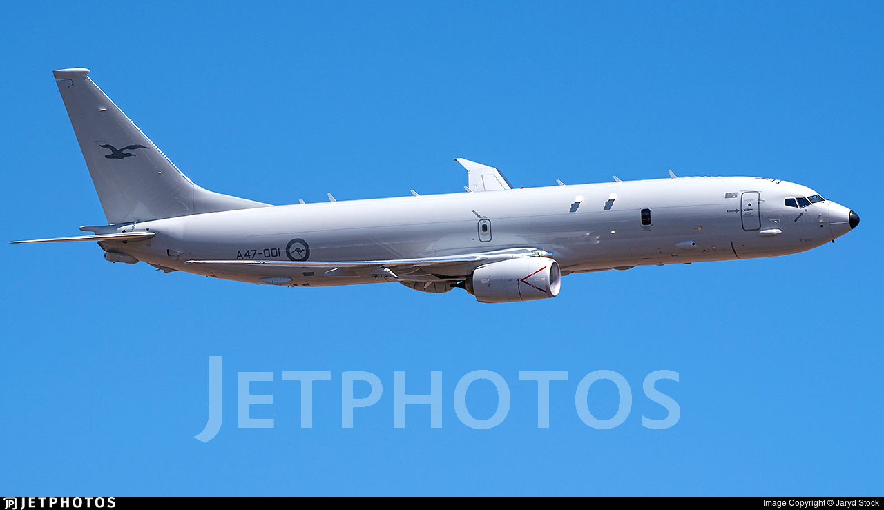 A47-001 - Boeing P-8A Poseidon - Australia - Royal Australian Air Force (RAAF)