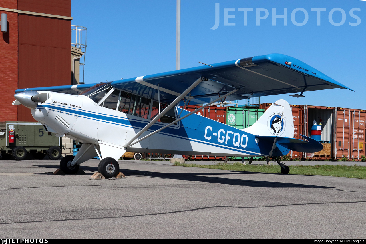 C-GFQO - Aviat A-1B Husky - Private