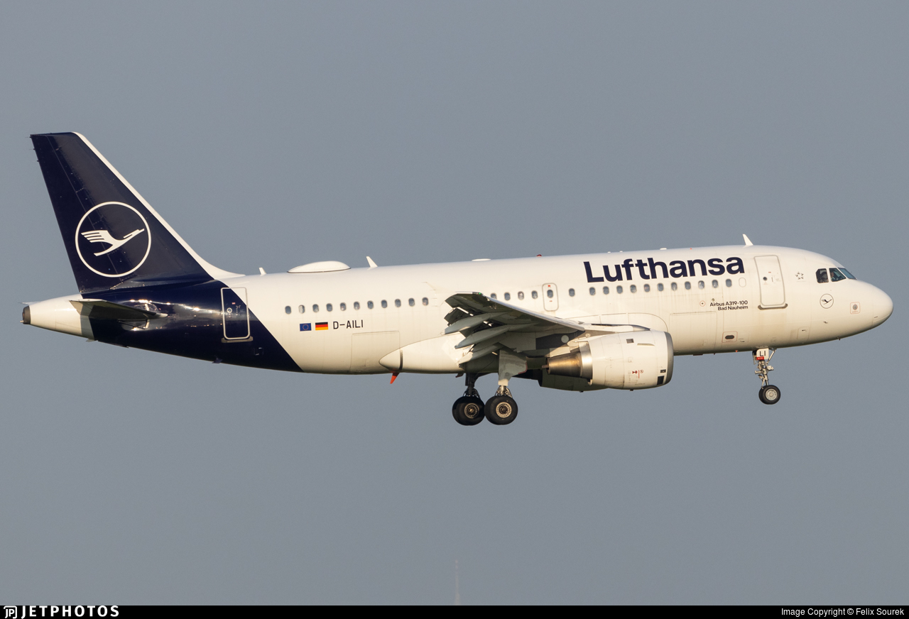 D-AILI - Airbus A319-114 - Lufthansa
