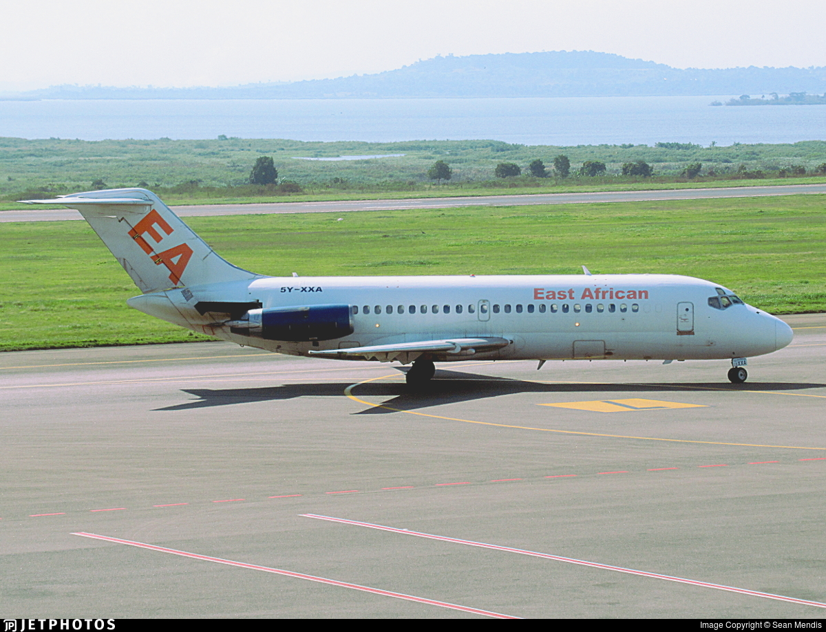 5Y-XXA - McDonnell Douglas DC-9-14 - East African Safari Air Express