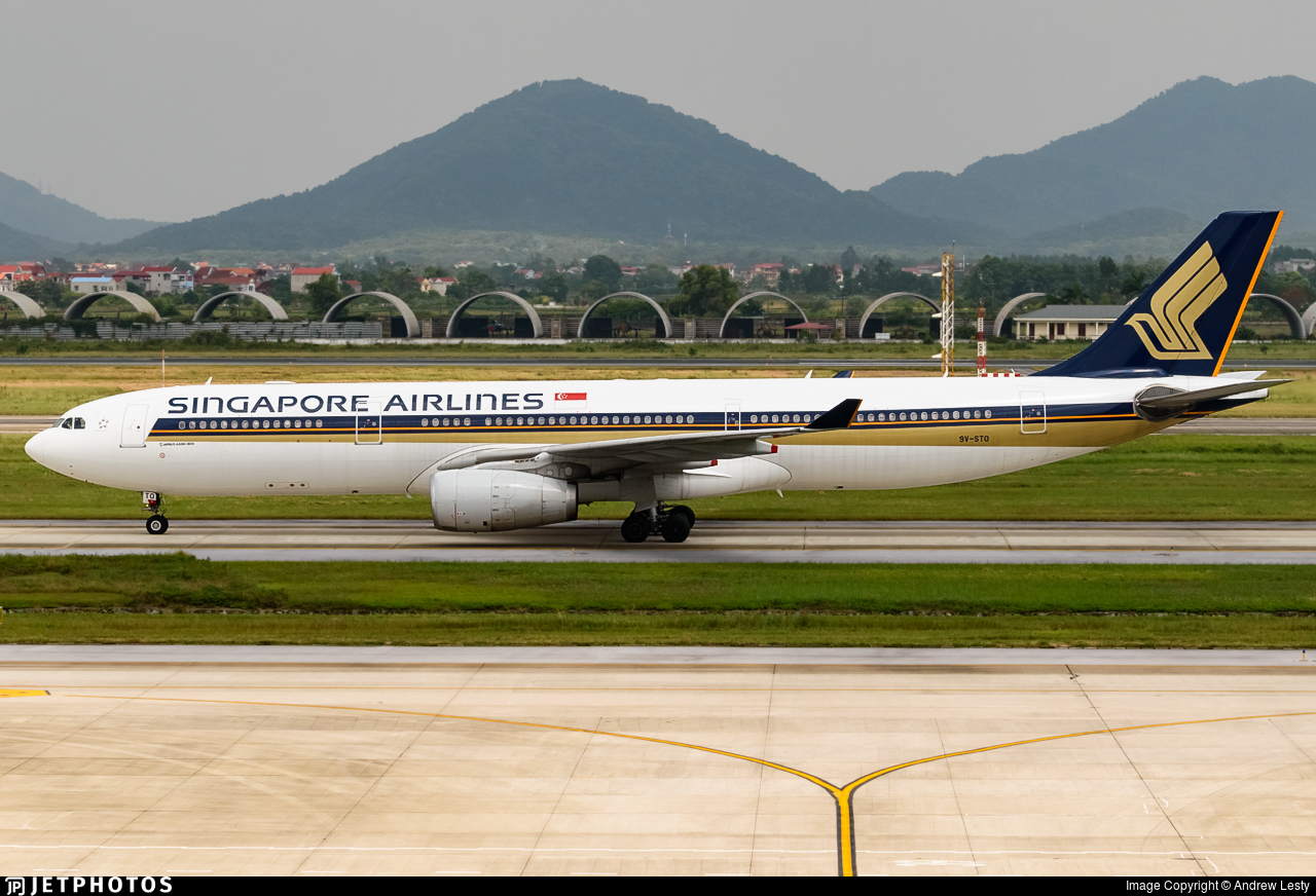 9V-STO - Airbus A330-343 - Singapore Airlines