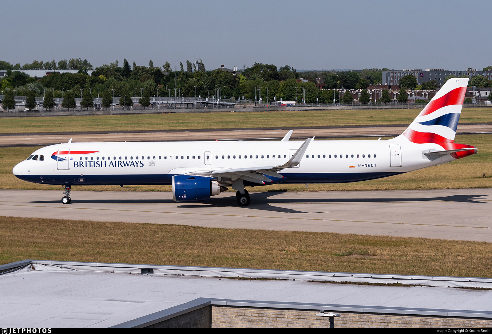 G-NEOY - Airbus A321-251NX - British Airways