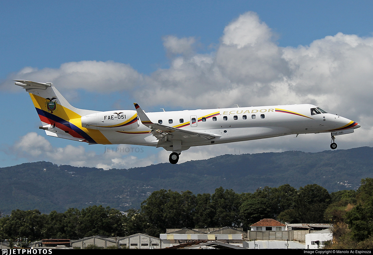 FAE-051 - Embraer ERJ-135BJ Legacy 600 - Ecuador - Air Force