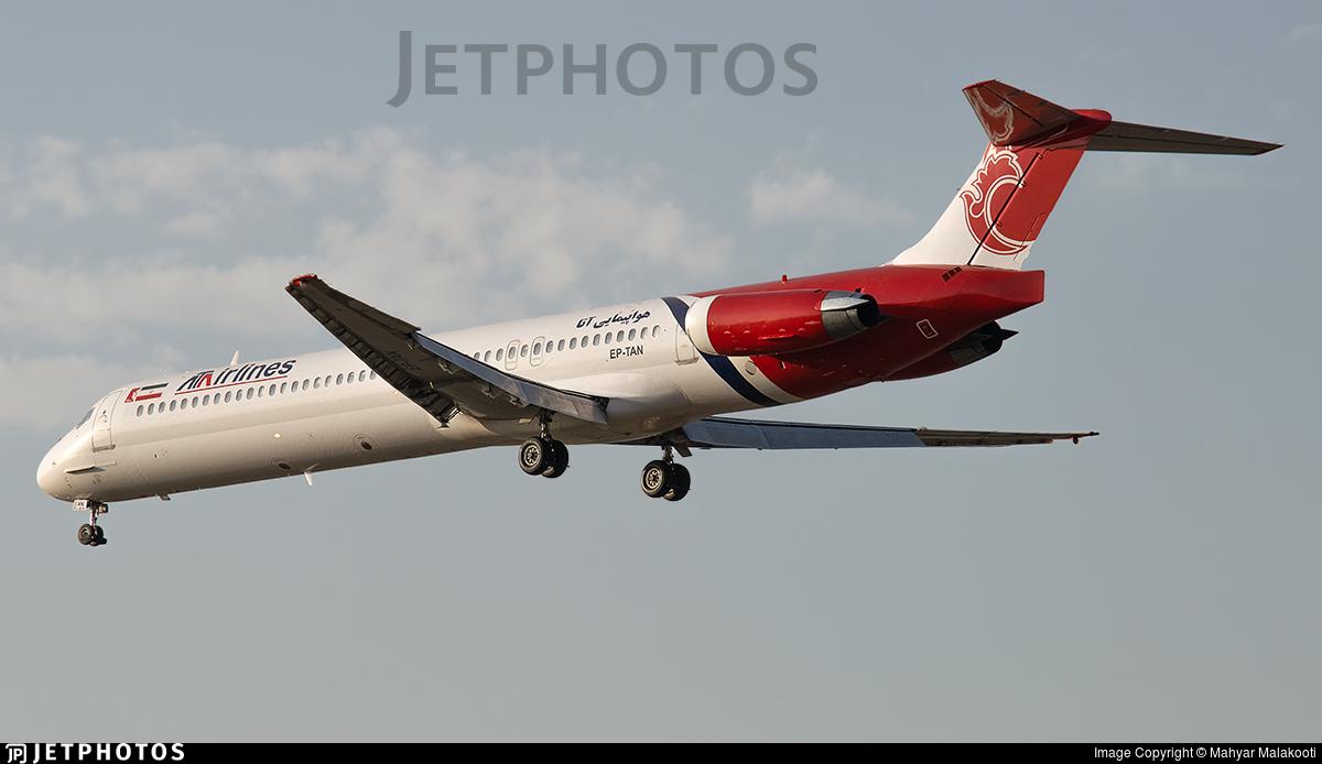 EP-TAN - McDonnell Douglas MD-83 - ATA Airlines [Iran]