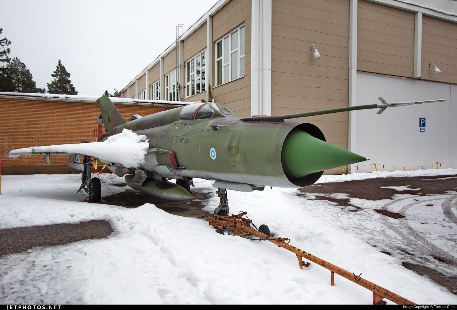 MG-135 - Mikoyan-Gurevich MiG-21 Fishbed - Finland - Air Force