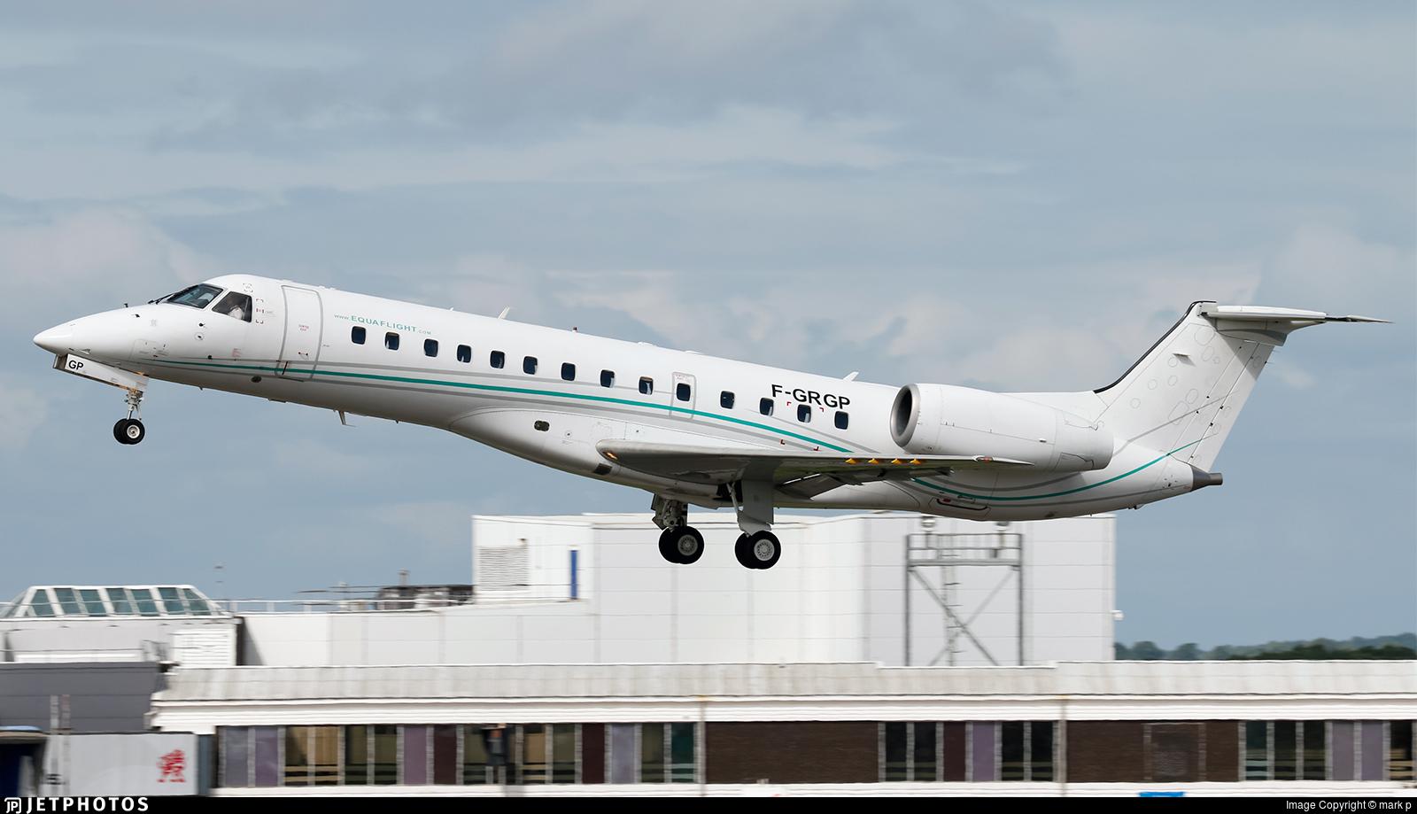 F-GRGP - Embraer ERJ-135ER - Equaflight Service