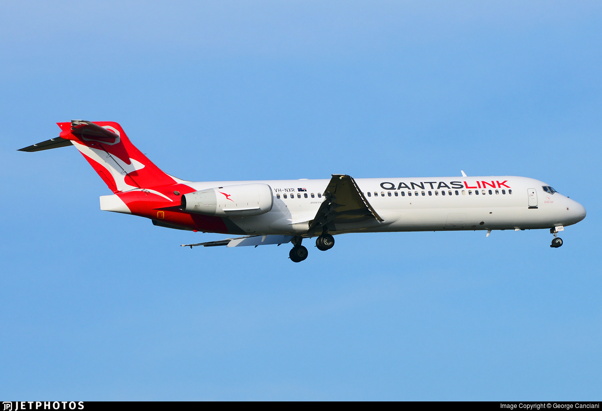 VH-NXR - Boeing 717-2BL - QantasLink (National Jet Systems)